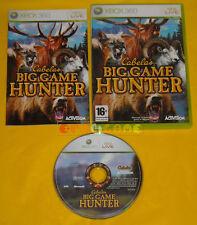 CABELA'S BIG GAME HUNTER Xbox 360 Versione Ufficiale Italiana »»»»» COMPLETO