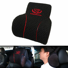VIP BLACK BLING Car Memory Foam Head Neck Rest Cushion Headrest Comfortable Seat