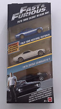 Hot Wheels Fast And Furious 3 pack C car collection New Item
