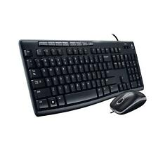 Logitech MK200 USB 2.0 Wired Keyboard-Mouse (Combo)