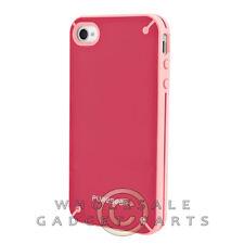 Apple iPhone 4/i4S PureGear Slim Shell Case Strawberry Rhubarb Case Guard Shield
