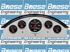 1957 Ford Fairlane Gauge Panel w/ Auto Meter Sport Comp Instruments 57