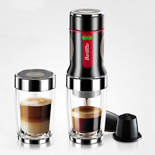 Portable Hand Press Coffee Maker Mini Handheld Espresso Pods Capsule Machine