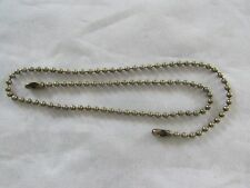 "PULL CHAIN EXTENSION 18 "" LIGHT OR FAN   ANTIQUE BRASS/BRONZE  FINISH"