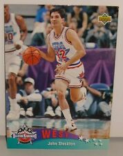 CARTE DE COLLECTION NBA BASKET BALL 1993  WEST ALL STARS JOHN STOCKTON (17)