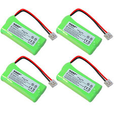 4x HQRP Phone Battery for AT&T BT18433 BT28433 BT184342 BT284342 DS6111 BT28433