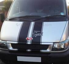 Transit Bonnet Stripe, ST Sport Connect, Van Body Stripe Custom Vinyl Graphic
