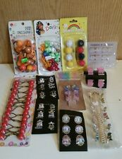 Girls Hair Accessories Lot Approximately 100 Pieces