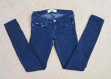 Hollister Womens Skinny Jeans Size 0 Dark Wash Pants Low Rise