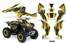 AMR Racing CanAm Renegade500/800/1000 Graphic Kit Wrap Quad Decal ATV All NUKE Y