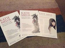 KATIE MELUA- UK TOUR 2016- RARE CONCERT FLYERS X 3
