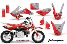 AMR Racing Honda Graphic Kit Bike Decal CRF 50 Decal MX Parts 2004-2013 TBOMB R
