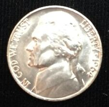 (1) 1964 BU Jefferson Nickel Uncirculated from Original Roll Nice 5 Cent Coin!!!