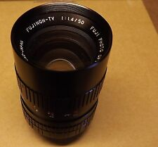 Fujinon-TV 1:1.4/50 Fuji Photo Optical Camera Lens C- Mount Prime