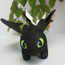 "HOW TO TRAIN YOUR DRAGON Toothless Night Fury 8"" Stuffed Plush doll"