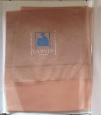 Vintage Lanvin Bas Paris RHT Nylon Stockings Blonde 9.5
