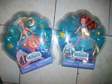 Lot of 2 Disney Little Mermaid Ariel & Her Sisters Arist Doll