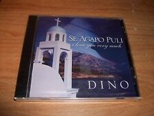 Se Agapo Puli I Love You Very Much by Dino (Music CD 2002) His Glory NEW