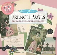 Instant Memories French Pages : Ready-to-Use Scrapbook Pages by Anna Corba