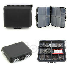Waterproof Fishing Lure Bait Tackle Storage Box Case Bag With 26 Compartments