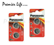 Panasonic Lithium CR2025 batteries 3V Coin Cell - Pack Of 4