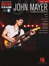 John Mayer Sheet Music Guitar Play-Along Book Audio Online NEW 000144350