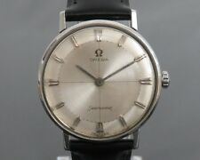 100% Authentic OMEGA Seamaster Hand Wind Mens Watch 17Jewels Cal.520 14735 1 SC