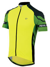 Pearl Izumi Elite Bike Cycling Jersey Screaming Yellow/Green Flash - Large
