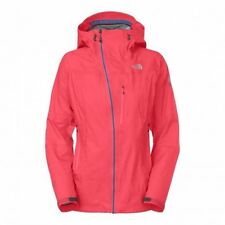 The North Face Women's HYALITE Waterproof Shell Hiking Climbing Jacket Pink XS