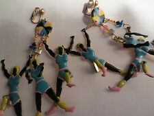 "CLIPS LUNCH AT THE RITZ 24KT. GOLD PL. LADIES SPORT EARRINGS"" 4/1/12""BY ""1/1/2"""