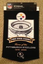 PITTSBURGH STEELERS THREE RIVERS STADIUM BANNER