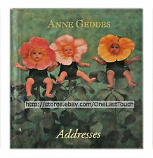 ANNE GEDDES Little Address Book WILD ROSES Contact+Numbers+Email TRAVEL SIZE New