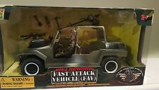 1:18 POWER TEAM ELITE FAV VEHICLE ATTACK  BUGGY WORLD PEACEKEEPERS  1/18 HUMVEE