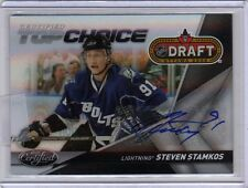 STEVEN STAMKOS 10/11 Certified Auto Autograph Top Choice #5/10 SP Lightning