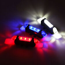 5-LED Laser Beam Waterproof Bike Bicycle Cycle Rear Back Tail Lights Light Lamp