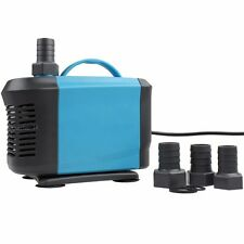 Submersible Inline Water Pond Pump 1455 GPH Aquarium Tank Fountain Hydroponic