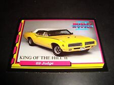 Muscle Cars II #KH8 1993 King Of The Hill INSERT TRADING Card 1969 Judge