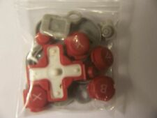 Nintendo DSi Replacement Buttons+ Pads Part Shell/Housing Red