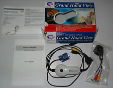 Adartador PC-TV Universal Converter Box PC VGA to TV GRAN HAND VIEW