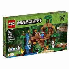 LEGO MINECRAFT Tree House BUILDING TOY, 706 Pcs. The Jungle Tree House LEGO SET