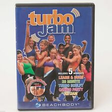 Turbo Jam DVD Beachbody 5 Rockin' Workouts (2-Disc Set)