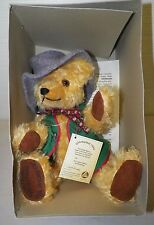 HERMANN 1995 OKTOBERFEST BAVARIAN TEDDY BEAR LIMITED EDITION 6440 OF 8000 BOX