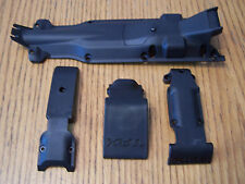 1/10 Traxxas Summit Skid Plates Front Center Rear Skids Transmission Plate Cover