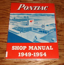 1949 1950 1951 1952 1953 1954 Pontiac Shop Service Manual 49 50 51 52 53 54