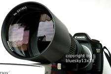 Super tele 500/1000mm pour pentax k7 K-x K-m L-r k-5 k10d k20d k100d k110d k200d
