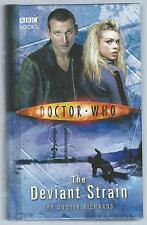 Doctor Who: The Deviant Strain Justin Richards BBC 2006 8th Printing G+Condition