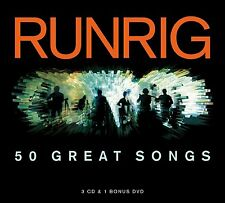 RUNRIG '50 GREAT SONGS' 3 CD + DVD SET