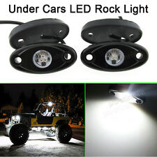 4x White Offroad Truck Car SUV Underbody Glow Light Lamp Tail Light Fit Renault