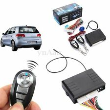 Car Auto Central Door Lock Kit Locking Keyless Entry System + 2 Remote Control