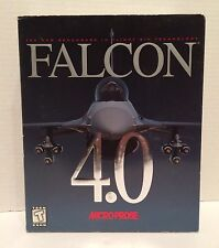 Falcon 4.0 The Benchmark In Flight Sim Technology Microprose Complete